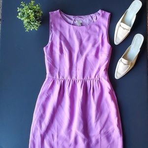 🌼J.crew Light Purple Dress